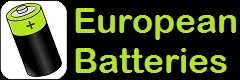 logo of the e-commerce EuropeanBatteries.com reference battery shop